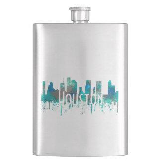 Houston, Texas Skyline - SG Jungle Hip Flask