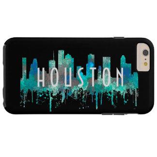 Houston, Texas Skyline - SG Jungle Tough iPhone 6 Plus Case