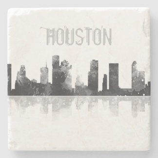 HOUSTON TEXAS SKYLINE - Stone Drinks Coaster