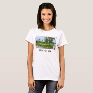 Houston Texas T-shirt with Skyline