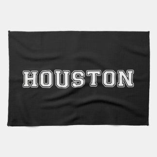 Houston Texas Tea Towel