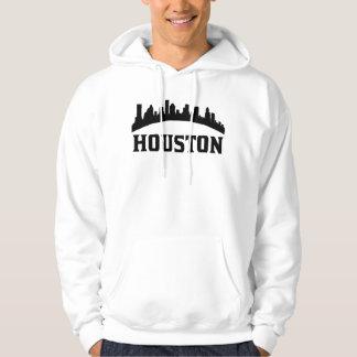 Houston TX Skyline Hoodie