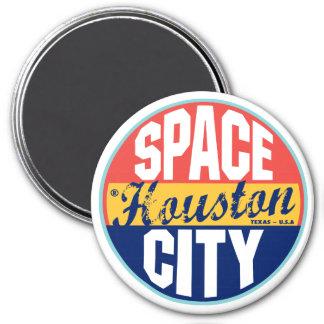Houston Vintage Label Magnet