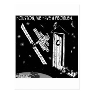 Houston, We Have A Problem Postcard