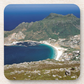 Hout Bay, The Sentinel And Atlantic Ocean Beverage Coaster