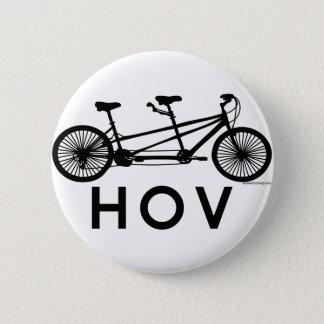 HOV Tandem Bicycle 6 Cm Round Badge