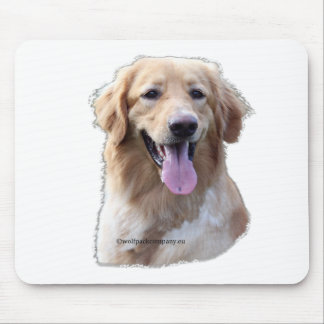 hovawart blond mouse pad