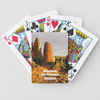 Hovenweep National Monument, CO Bicycle Playing Cards
