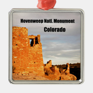 Hovenweep National Monument, CO Metal Ornament