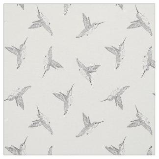 Hovering Hummingbird Tossed Print Fabric
