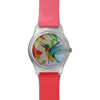 """Hovering Hummingbird"" Wrist Watch"