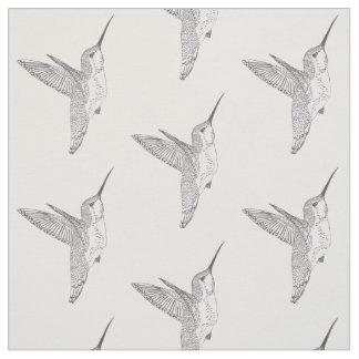 Hovering Hummingbirds Print Fabric