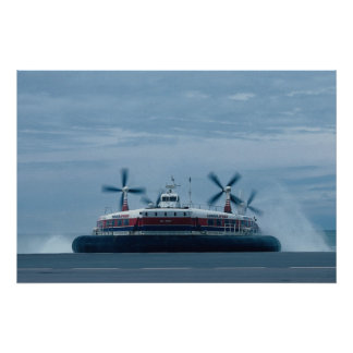 Hoverspeed, English Channel Ferry Poster