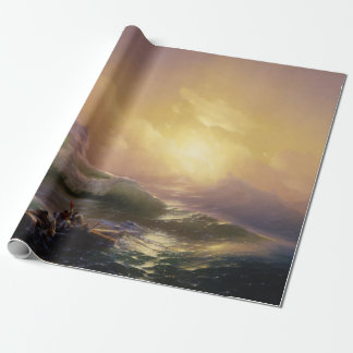 Hovhannes Aivazovsky The Ninth Wave Wrapping Paper