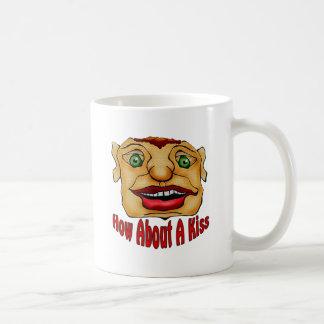 How About A Kiss Coffee Mug