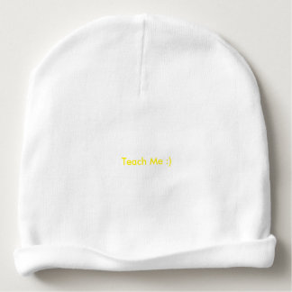 How About a Little Solidarity?  Teach Me :0) Baby Beanie