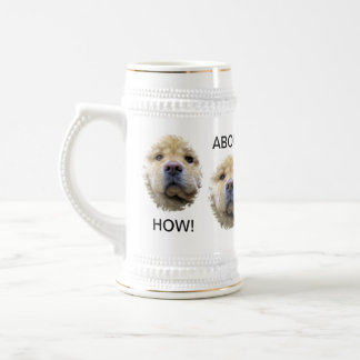 """HOW ABOUT ANOTHER BEER STEIN"" BEER STEIN"