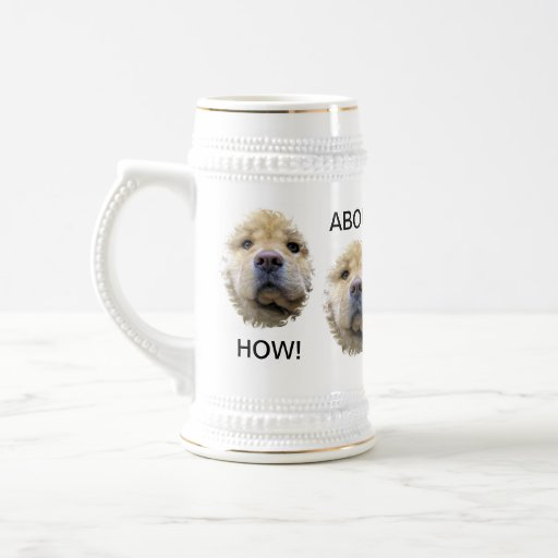 """HOW ABOUT ANOTHER BEER STEIN"" MUG"