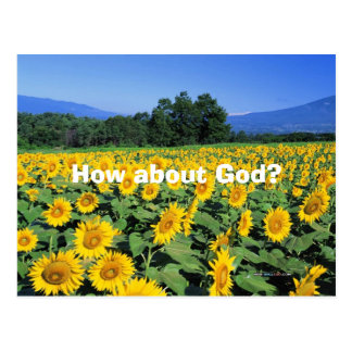 How about God? Postcard