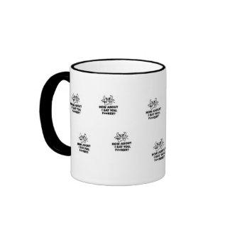 How About I Eat You?! Ringer Mug