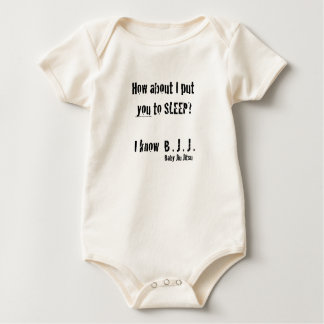 How about I put you to sleep?I know Baby Jiu jitsu Baby Bodysuit