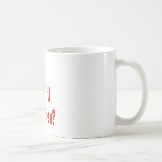 How About It Then? Coffee Mug