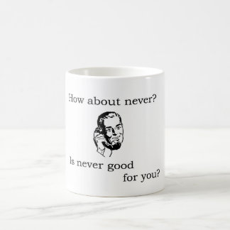 How About Never? Coffee Mug