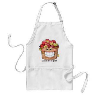 How about them apples?!  Happy Apples! Adult Apron