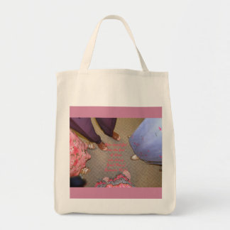 How Beautiful Are The Feet--Good News Grocery Tote Bag