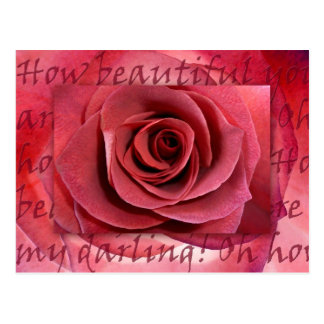 How Beautiful You Are Postcard