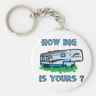 How big is yours? basic round button key ring