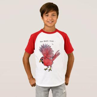 How Birds Wave Cardinal T-Shirt