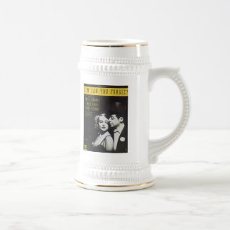 How Can You Forget? Vintage Songbook Cover Beer Steins