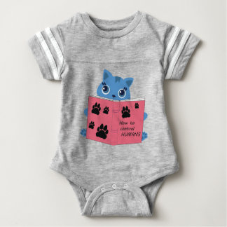 how cats control humans baby bodysuit