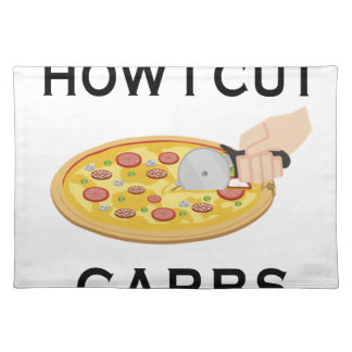 HOW CUT CARBS PLACEMAT