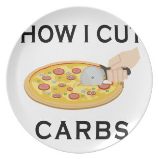 HOW CUT CARBS PLATE