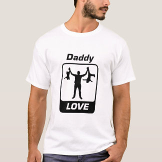 How Daddy Do! Dad Love by Mini Brothers T-Shirt