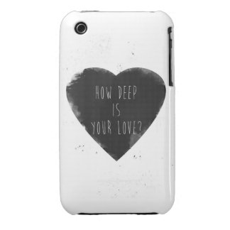 how deep is your love iPhone 3 Case-Mate cases