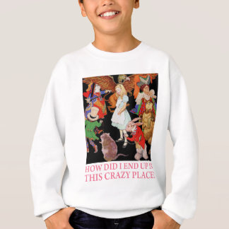 HOW DID I END UP IN THIS CRAZY PLACE? SWEATSHIRT