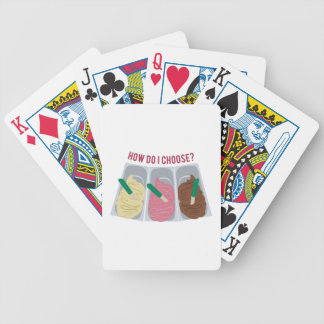 How Do I Choose? Bicycle Poker Cards