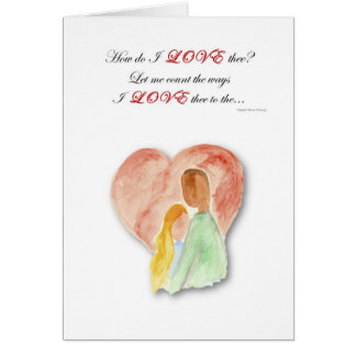 Interracial dating greeting cards