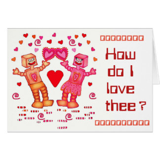How do I love thee? Let me compute the ways! Card