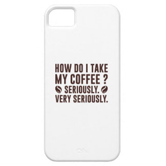 How Do I Take My Coffee Case For The iPhone 5