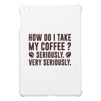 How Do I Take My Coffee Cover For The iPad Mini