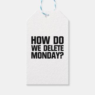 How Do We Delete Monday?