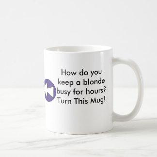How do you keep a blonde busy for hours? coffee mug