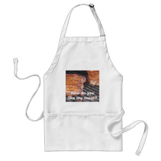 How do you like my meat? standard apron