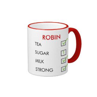 How do you like your tea customised check box mug