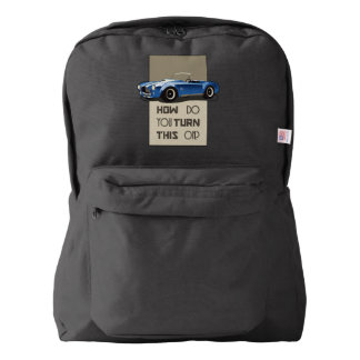 How do you turn this on blue cobra car backpack