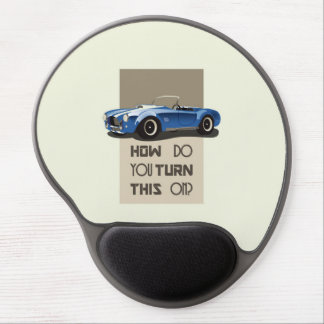 How do you turn this on blue cobra car gel mouse pad